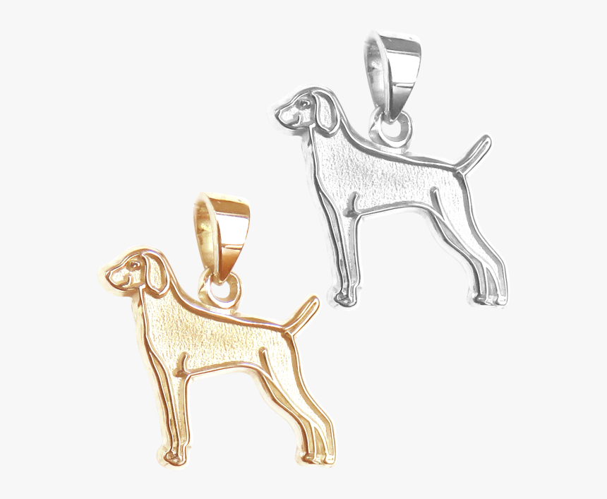 Weimaraner Charm Or Pendant In Sterling Silver Or 14k - Ancient Dog Breeds, HD Png Download, Free Download