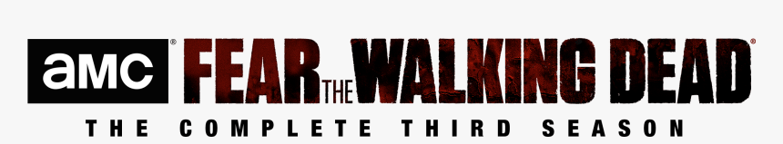 Fear The Walking Dead Season 3 Logo Png, Transparent Png, Free Download
