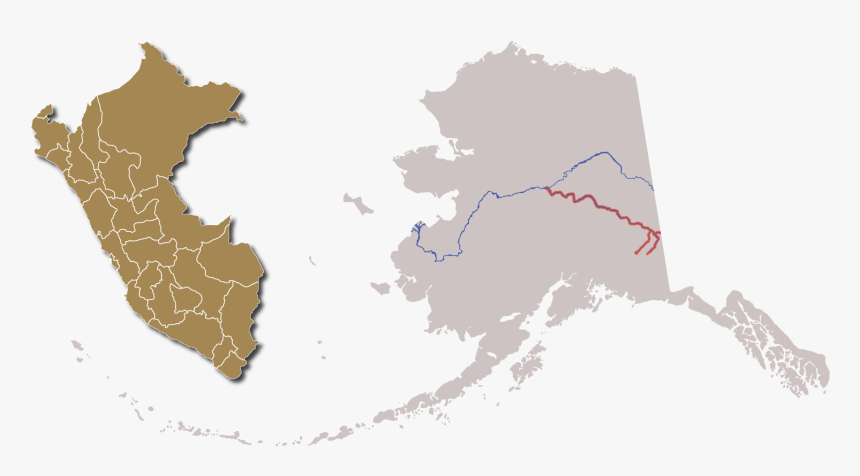 Nenana River Alaska Map, HD Png Download, Free Download