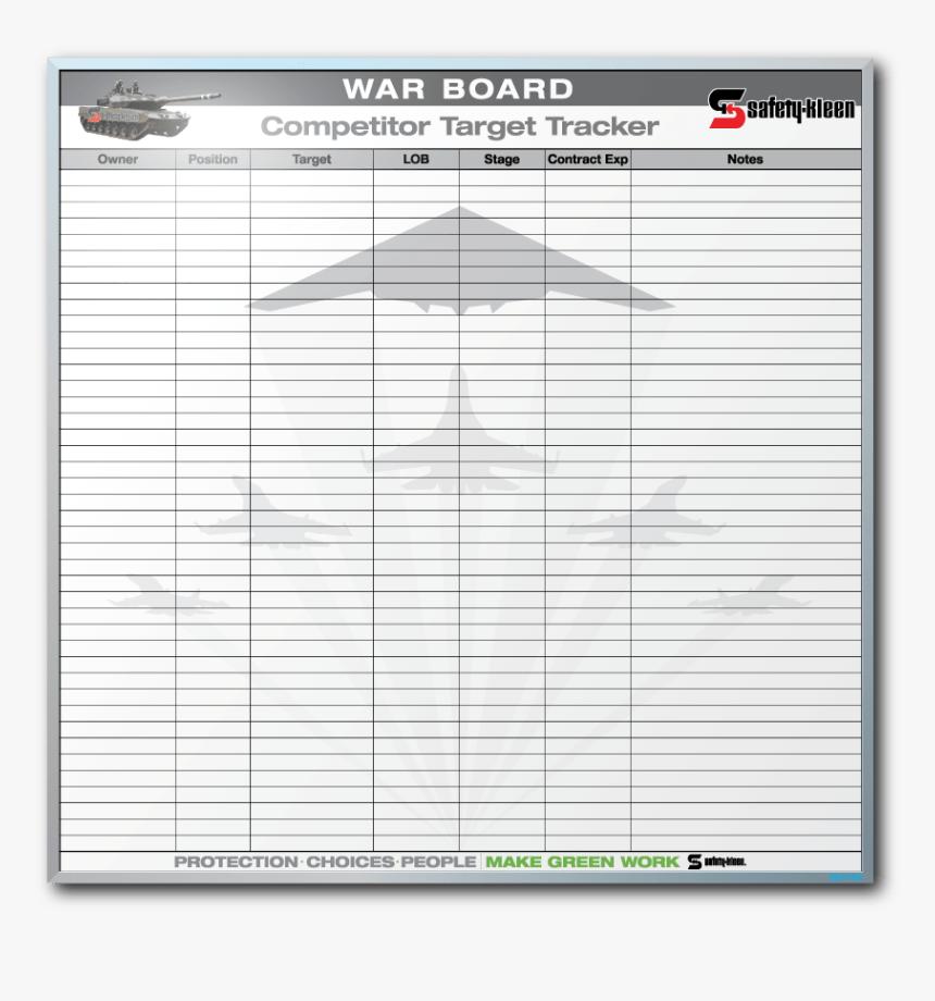 "Safety Kleen ""war - Sales War Board, HD Png Download, Free Download"