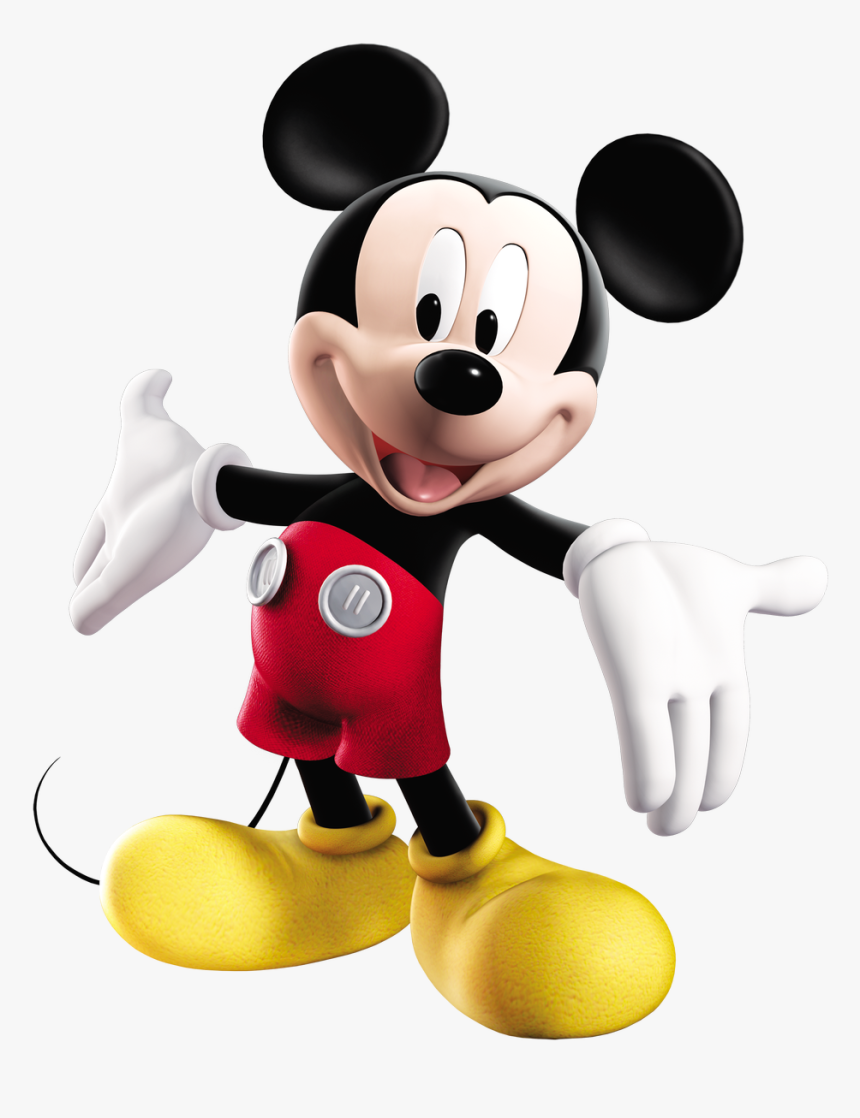 Baby Mickey Mouse Png Pictures - Mickey Mouse Cartoon 3d, Transparent Png, Free Download
