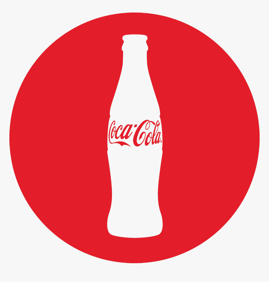 Coke Drink Diet Transparent Coca Soft Coca-cola Clipart - Coca Cola Bottle Logo, HD Png Download, Free Download