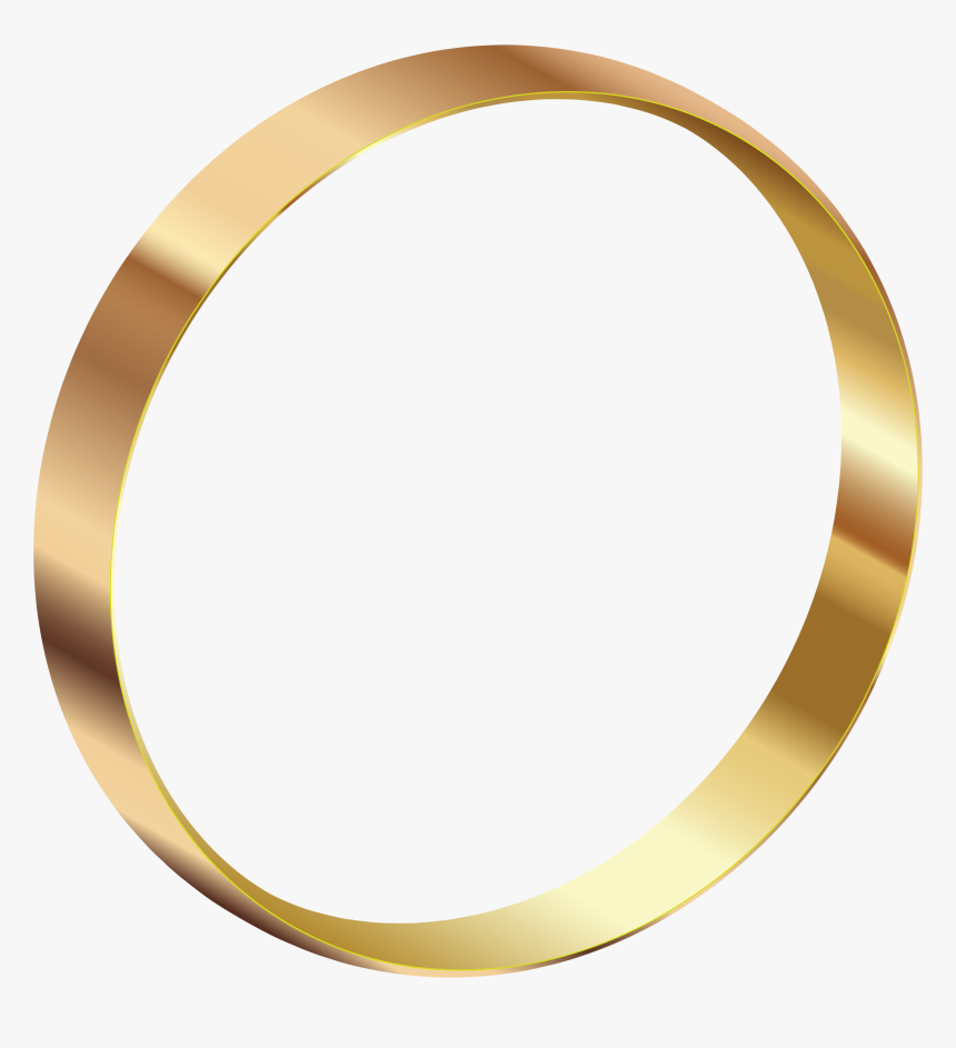 Gold Ring Png Image - Portable Network Graphics, Transparent Png, Free Download