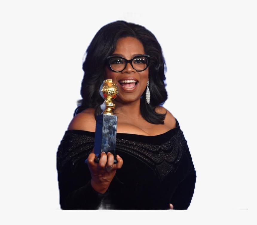 #inspiration #oprah #love #kind #happy #freetoedit - Golden Globes Oprah Winfrey, HD Png Download, Free Download