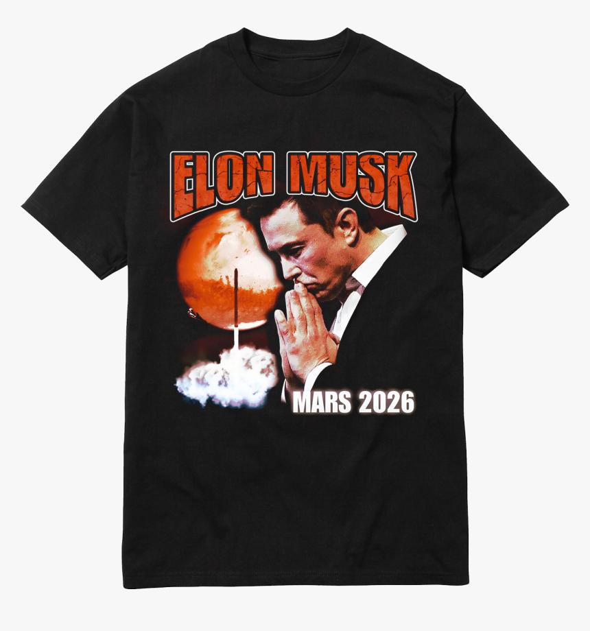 Image Of Elon Musk T Shirt Black - Fuck Off Supreme Tee, HD Png Download, Free Download