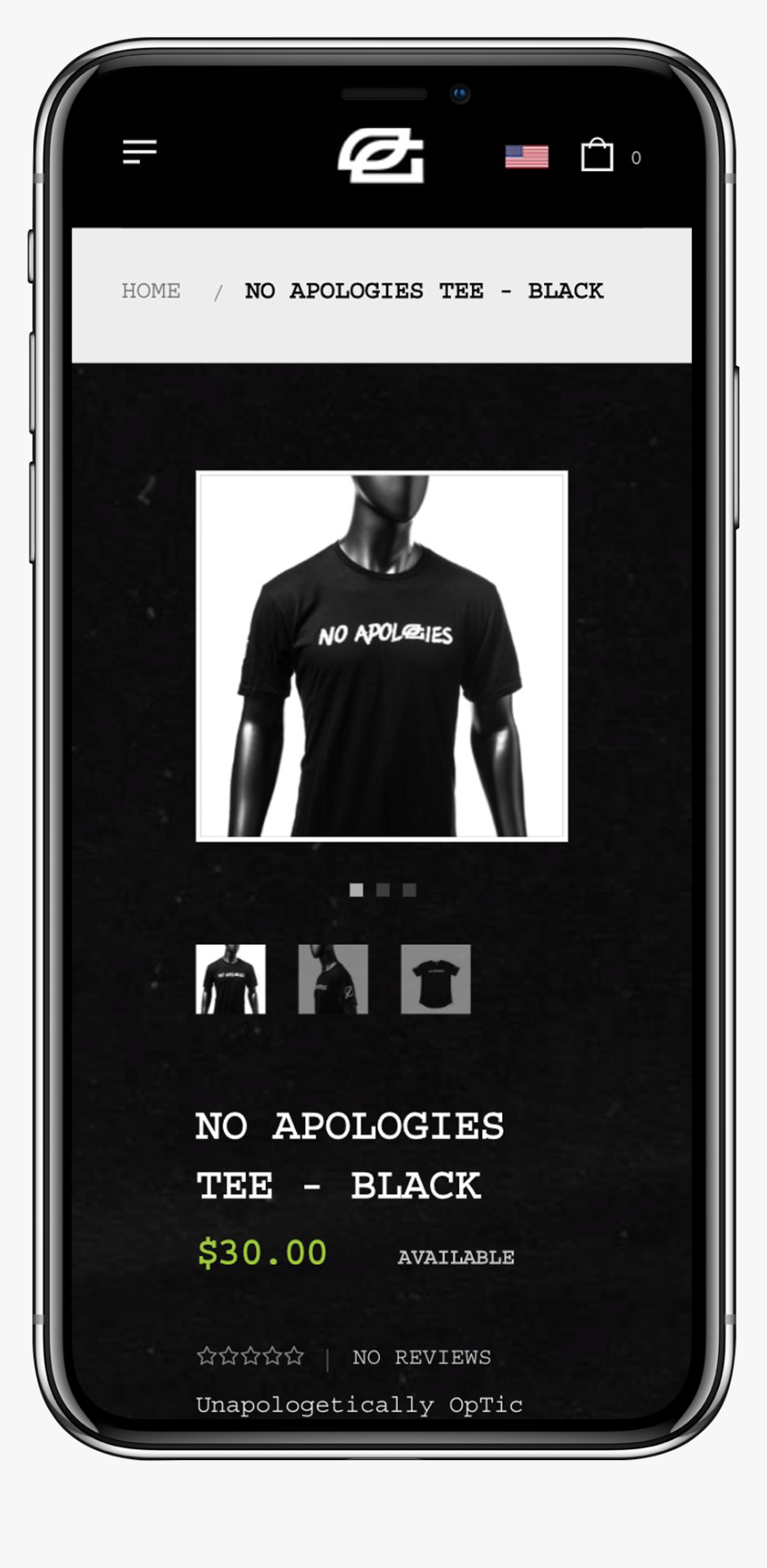Mobile View Of Optic Gaming Store Merchandise Page - Iphone, HD Png Download, Free Download