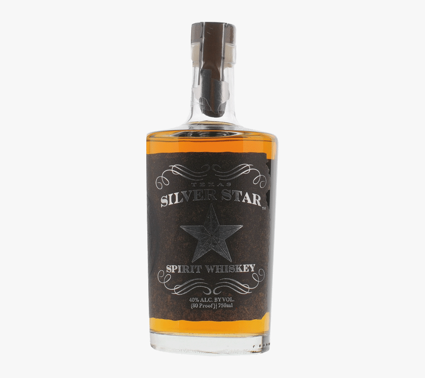 Texas Silver Star Whiskey - Silver Star Whiskey, HD Png Download, Free Download