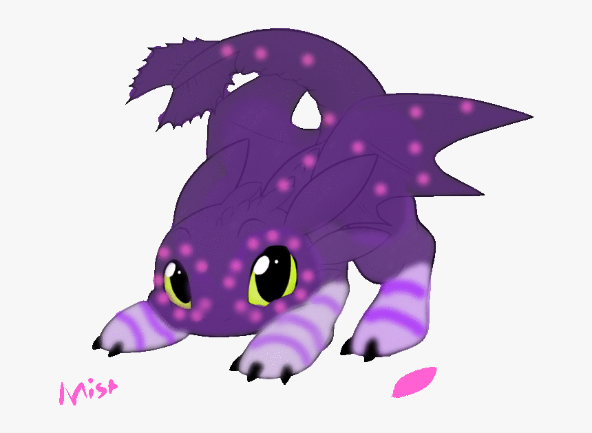 Dragon Drawings Toothless Baby Night Fury Gif Hd Png Download Kindpng