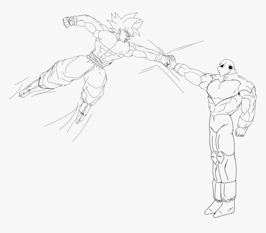 Coloring and Drawing: Gogeta Goku Ultra Instinct Coloring ...