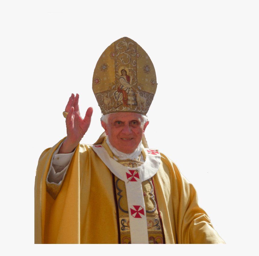 Transparent Pope Png - Pope Benedict Xvi, Png Download, Free Download
