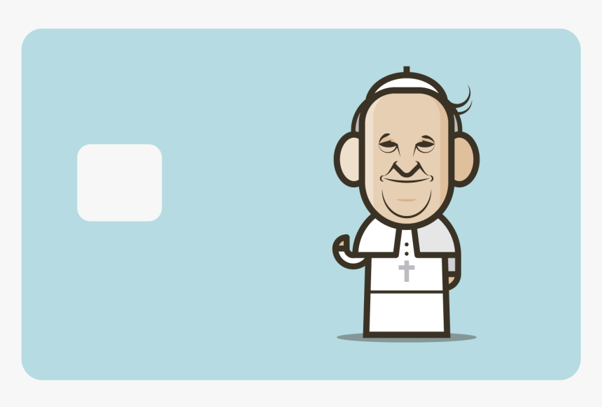 Pope Francis Cartoon, HD Png Download, Free Download