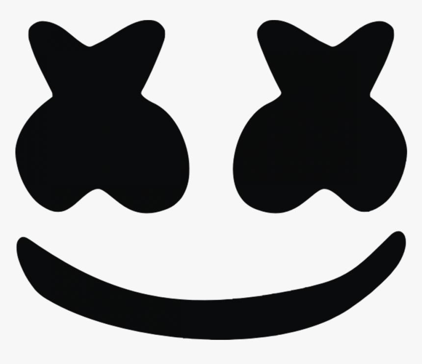 Marshmello Logo Png Cara De Marshmello De Roblox Transparent