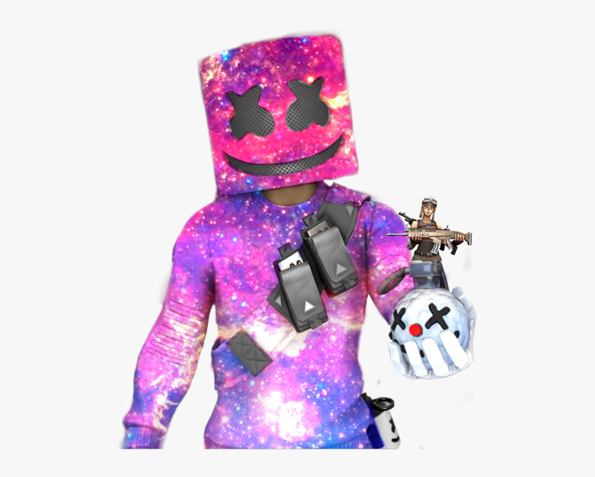 #galaxy #fortnite #marshmello - Png Images Galaxy Fortnite, Transparent Png, Free Download