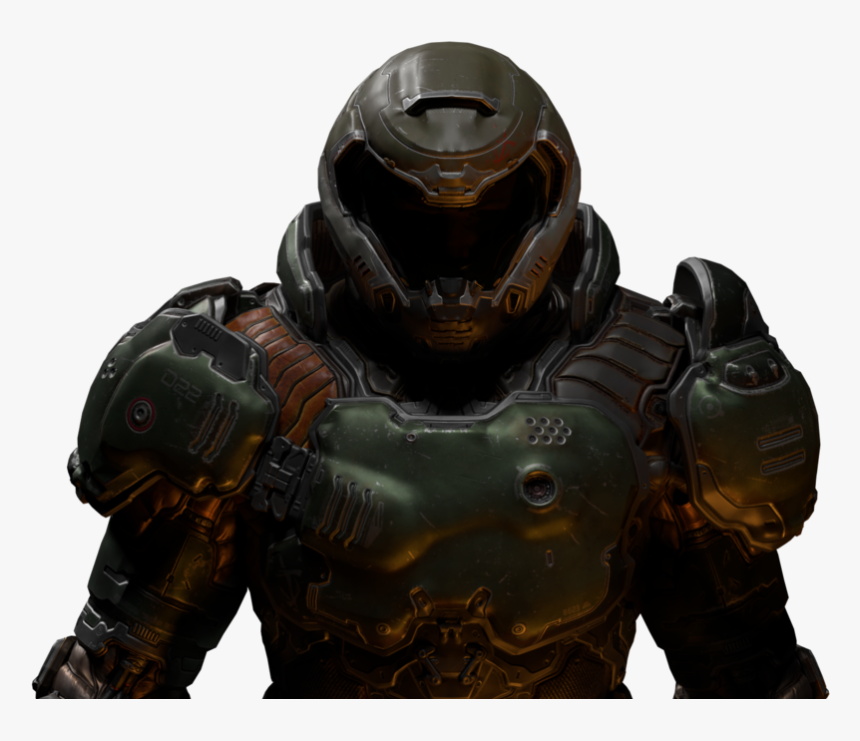 Doom Slayer Helmet Transparent Hd Png Download Kindpng