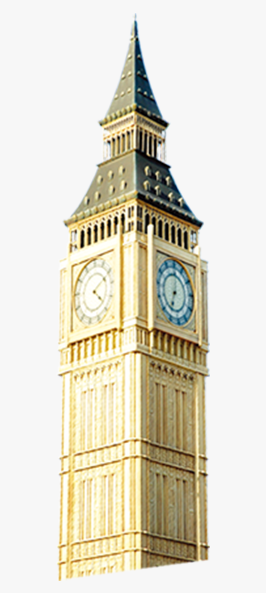 Bell Tower Png - Big Ben Tower Png, Transparent Png, Free Download
