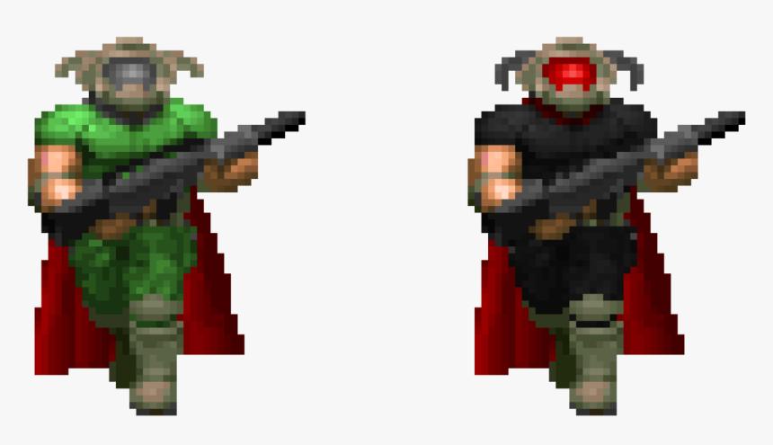 Transparent Doomguy Png Brutal Doom Doomguy Sprite Png Download