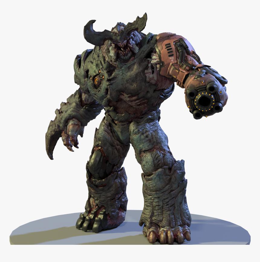 Transparent Cyber Demon Doom, HD Png Download, Free Download