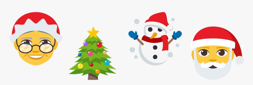 Christmas Emojis, Png Download