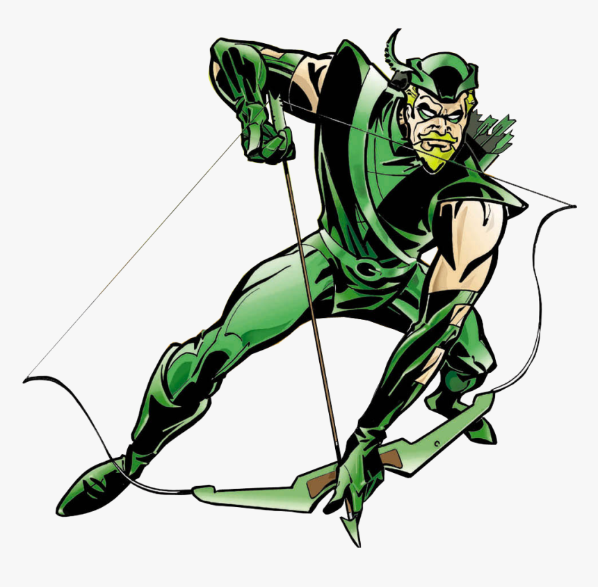Arqueiro Verde Green Arrow, Super Powers, Marvel Dc - Green Arrow Comics Png, Transparent Png, Free Download