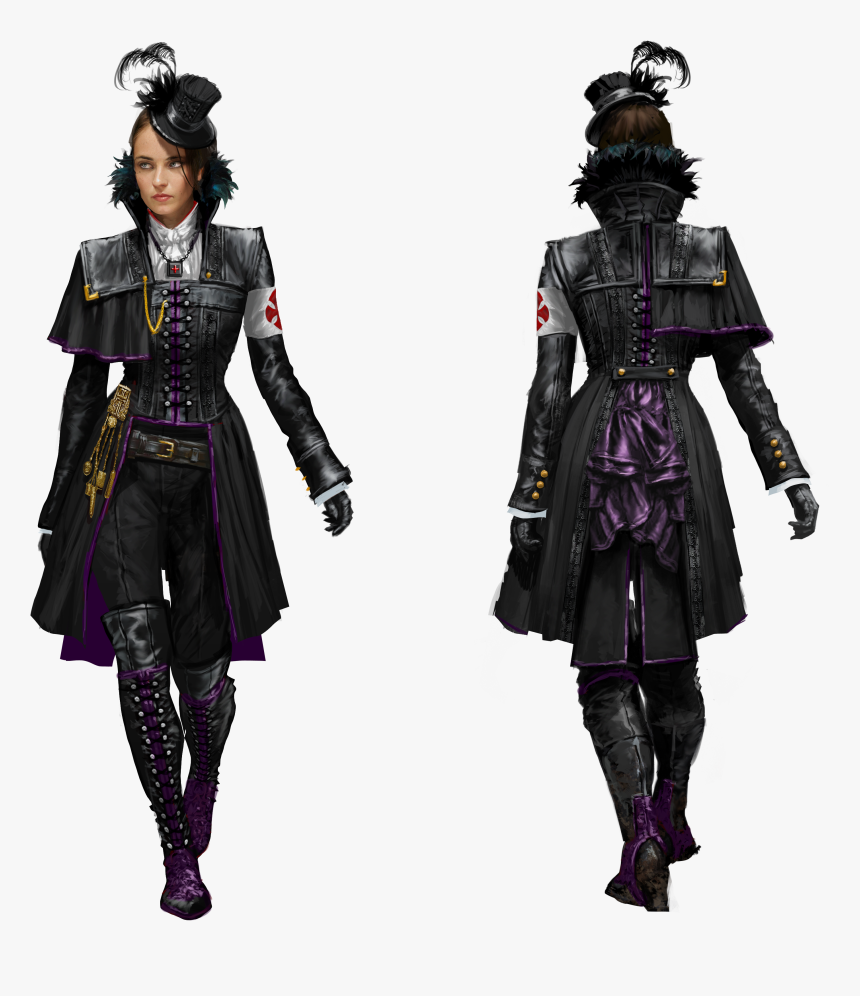 Assassin S Creed Syndicate Evie Armor Hd Png Download Kindpng