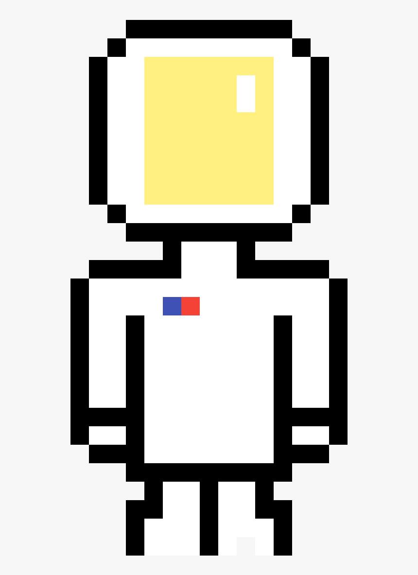 Pixel Art Of Pacman Clipart Png Download Minecraft Pixel
