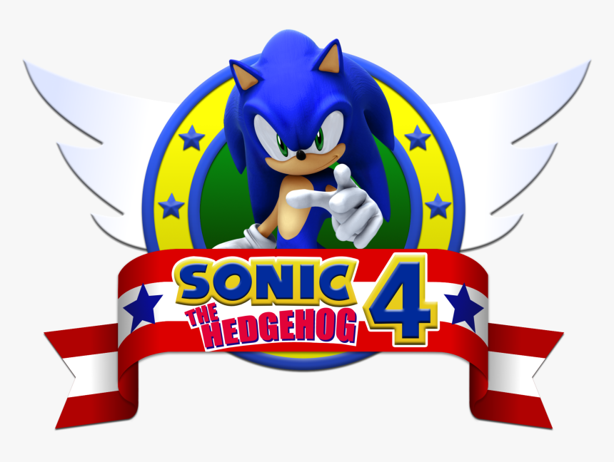Sonic The Hedgehog Logo Png Sonic The Hedgehog 4 Png Transparent Png Kindpng