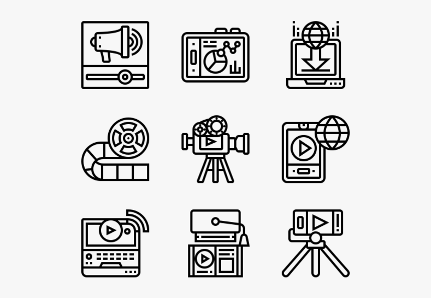 Essential Set - Big Data Icon Free, HD Png Download, Free Download