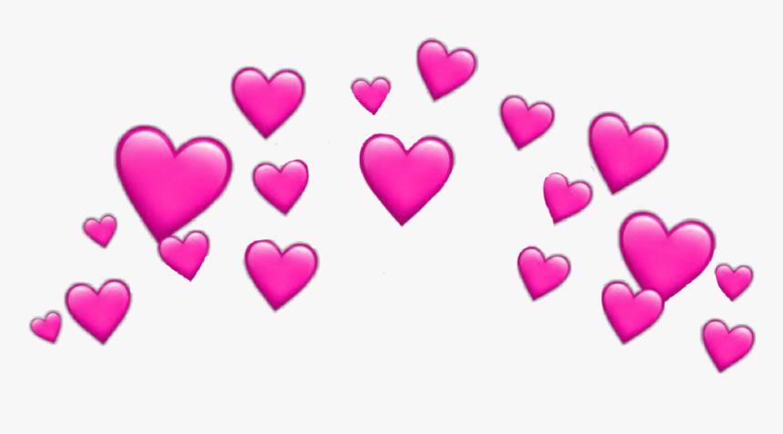 Transparent Heart Crown Png - Heart Emoji Transparent Background, Png Download, Free Download