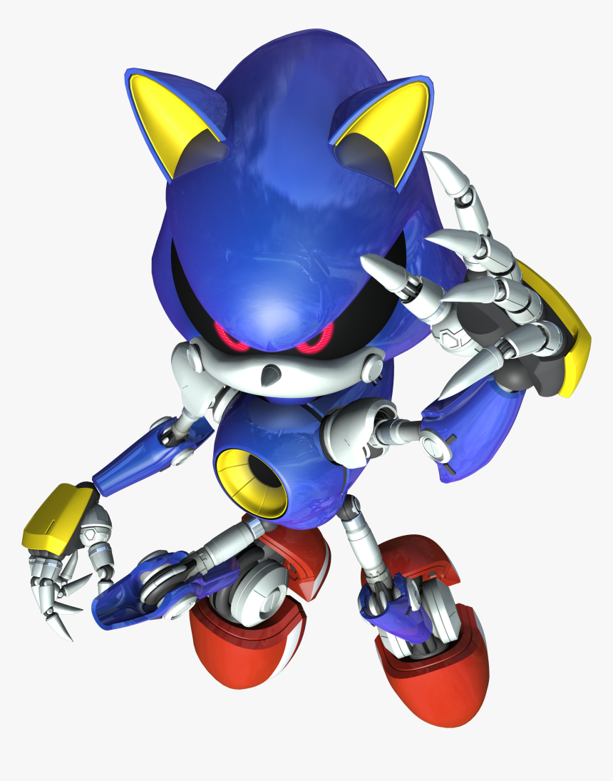 Metal Sonic Png - Sonic Rivals 2 Metal Sonic, Transparent Png, Free Download
