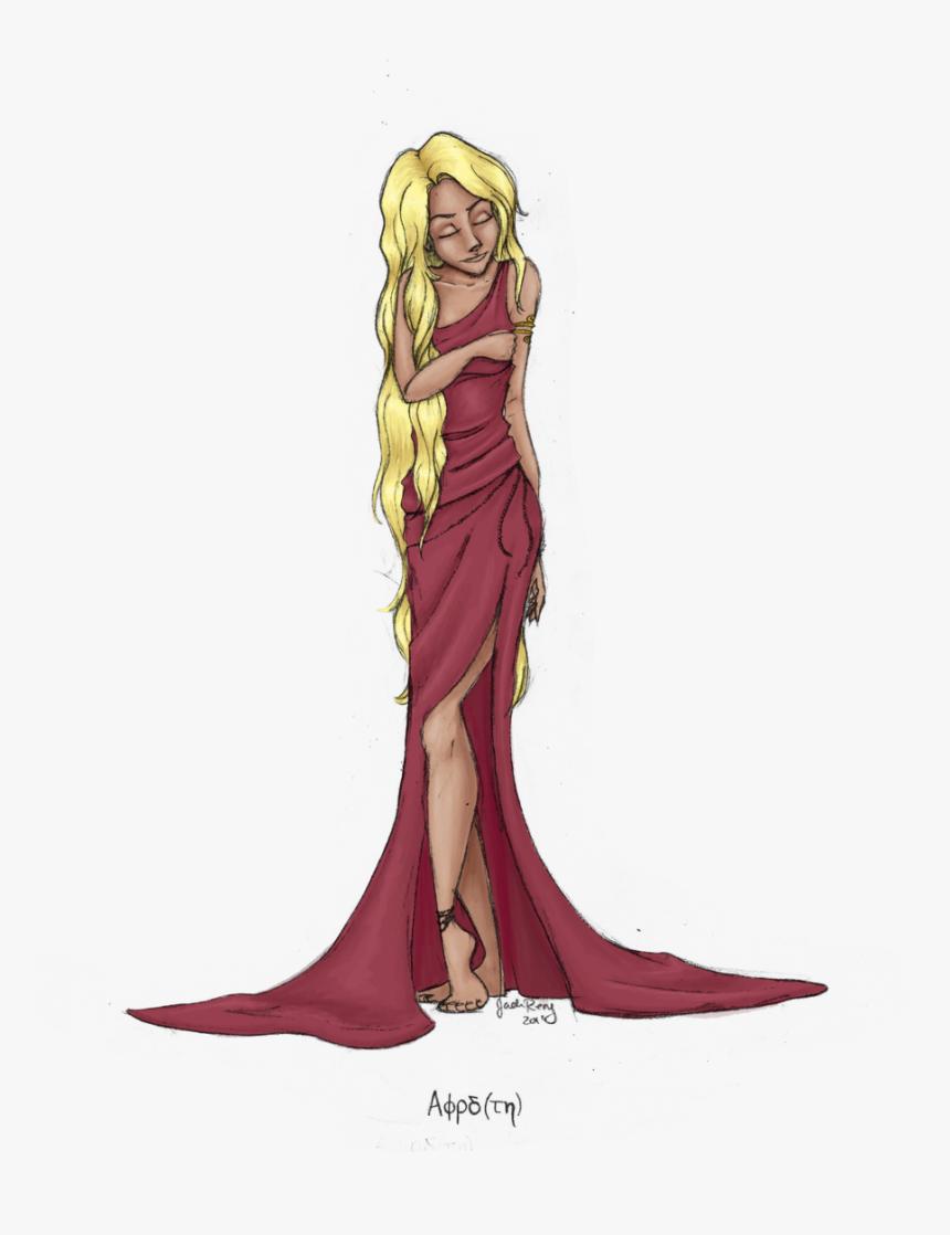 Goddess Clipart Roman Clothes Aphrodite Greek Goddess Png