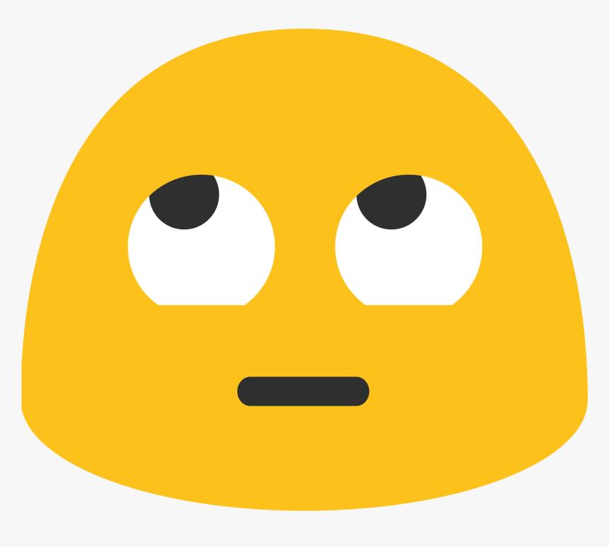 Rolling Eyes Emoji Google Clipart , Png Download - Rolling Eyes Emoji Google, Transparent Png, Free Download