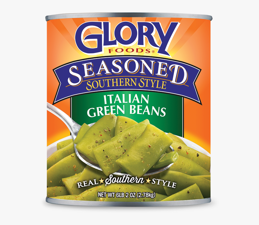 Seasoned Italian Green Beans - Glory Turnip Greens, HD Png Download, Free Download