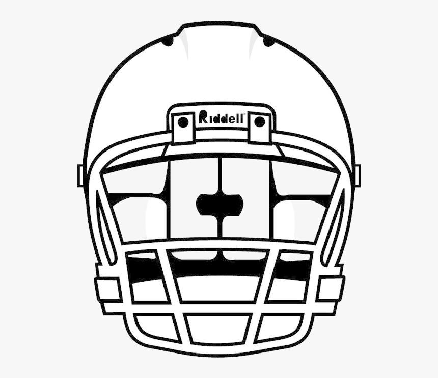 Football Helmet Nfl Front Free Clipart Images Transparent Football Helmet Front View Clipart Hd Png Download Kindpng