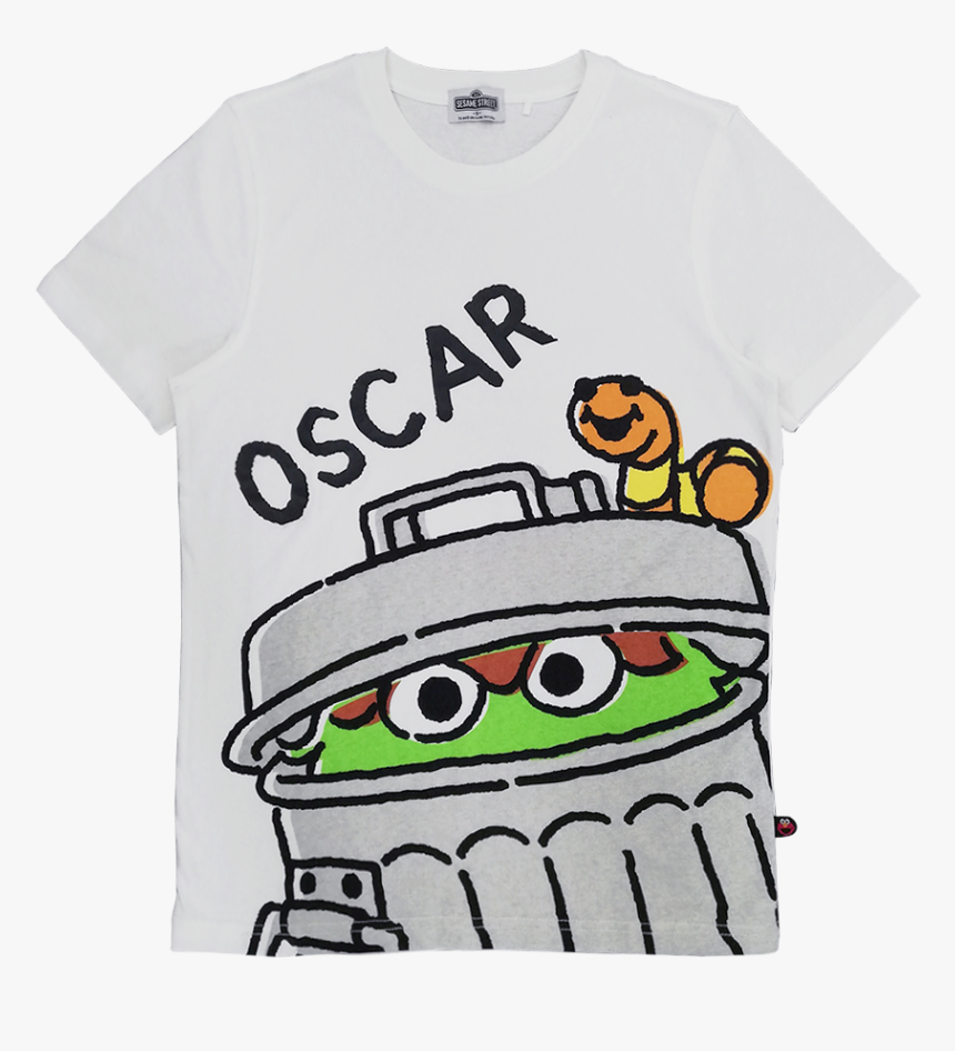 Oscar The Grouch Graphic T Shirt Cartoon Hd Png Download