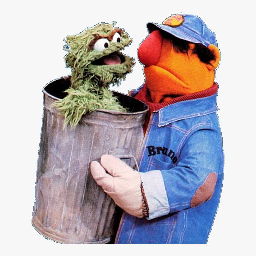 Bruno - Trash Guy Sesame Street, HD Png Download, Free Download