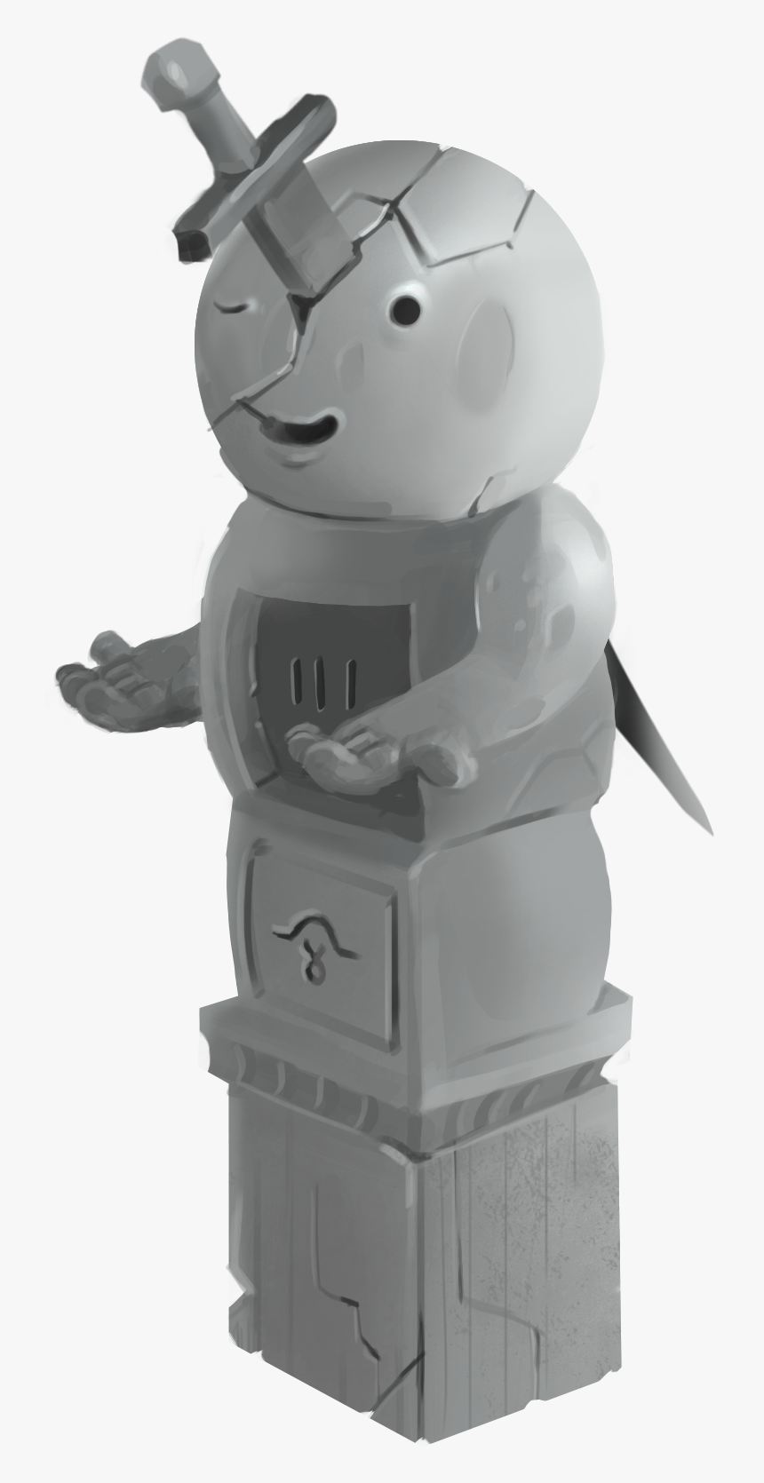 The-sword - Figurine - Figurine, HD Png Download, Free Download