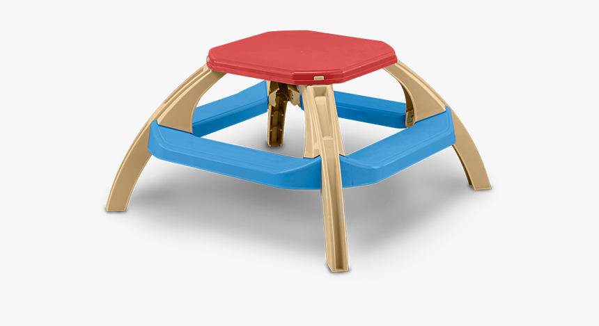 American Plastic Toys Kid's Picnic Table, HD Png Download, Free Download