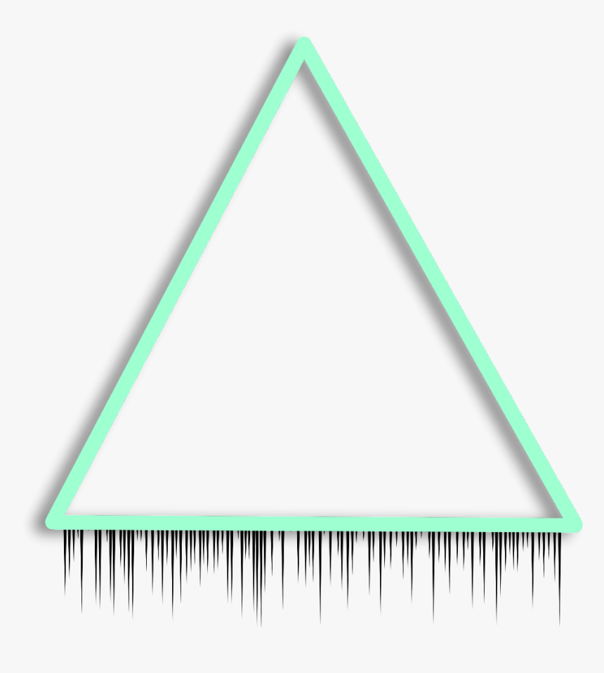 Transparent Triangle Border Clipart - Triangle Background Glow, HD Png Download, Free Download
