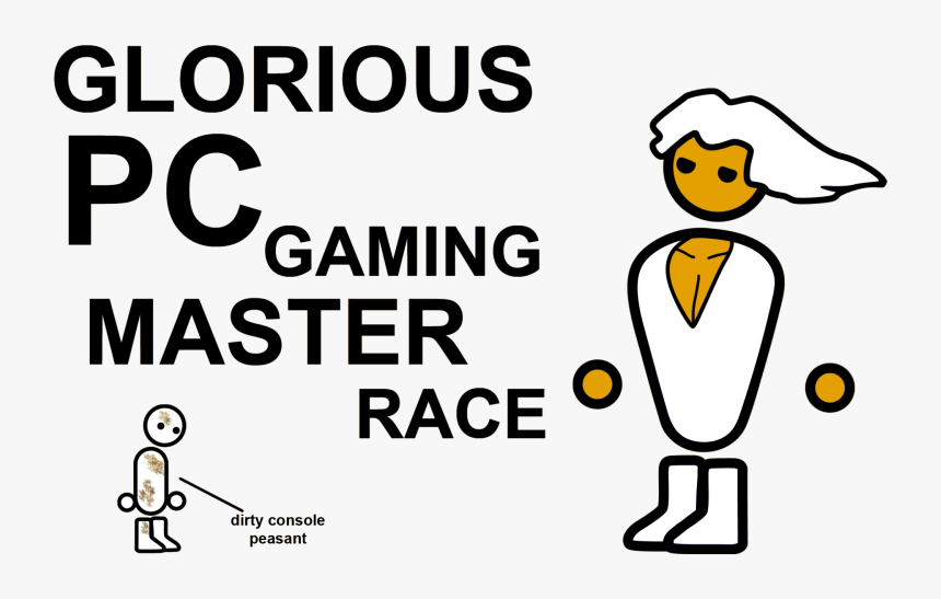 Pc Master Race , Png Download - Pc Master Race, Transparent Png, Free Download