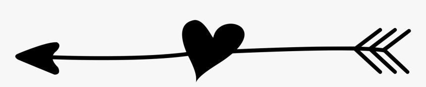 Clip Art Arrow With Heart Svg - Arrow With Heart Vector, HD Png Download, Free Download