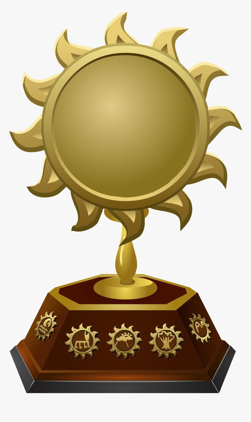 Golden Shape Star Drawing Cup Free Download Image Clipart - Trophy Emblems, HD Png Download, Free Download