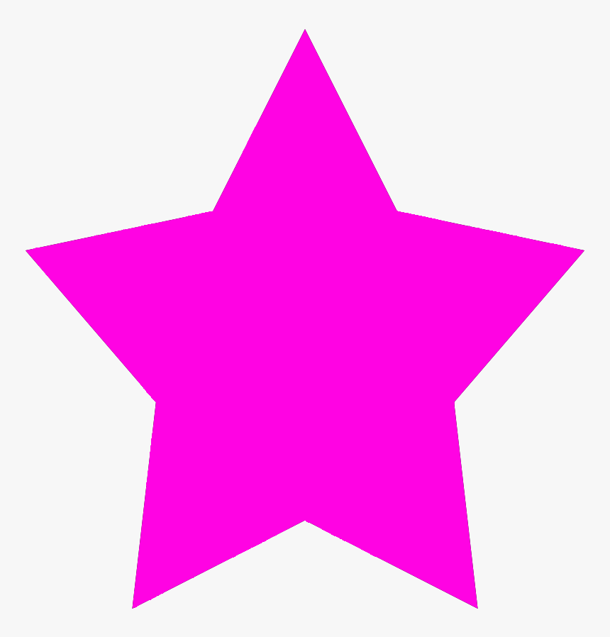 Pink Star Shape, HD Png Download, Free Download