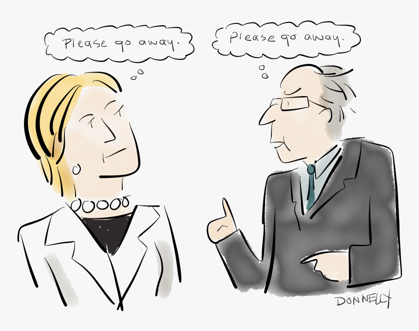 Hillary And Bernie Do Brooklyn - Hillary Please Go Away Cartoons, HD Png Download, Free Download