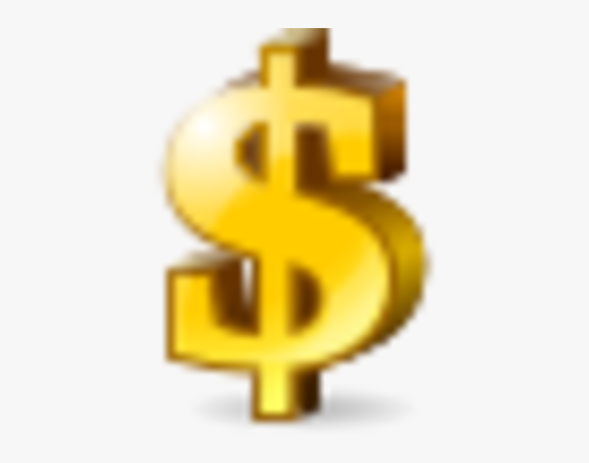 Gold Dollar Icon, HD Png Download, Free Download