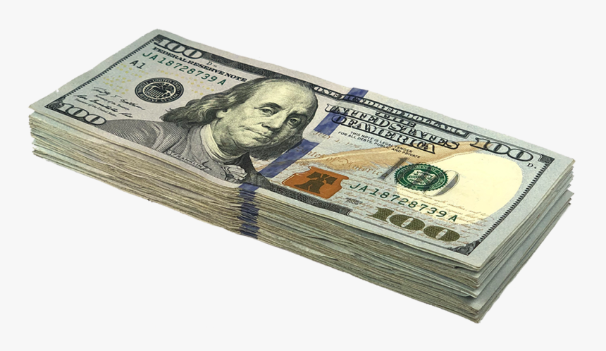 100 Dollar Png - New Us Dollar Png, Transparent Png, Free Download