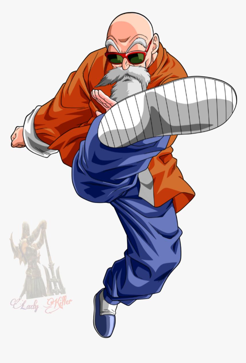 Roshi Maestroroshi Masterroshi Dragonball Anime Dragon Ball Z Characters Master Roshi Hd Png Download Kindpng