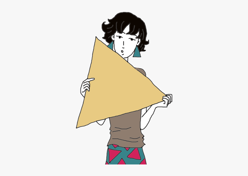 Triangle - Cartoon, HD Png Download, Free Download