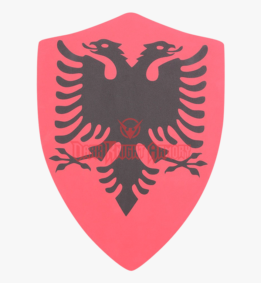 Double Headed Eagle Larp Heater Shield , Png Download - Albanian Flag Eagle Png, Transparent Png, Free Download