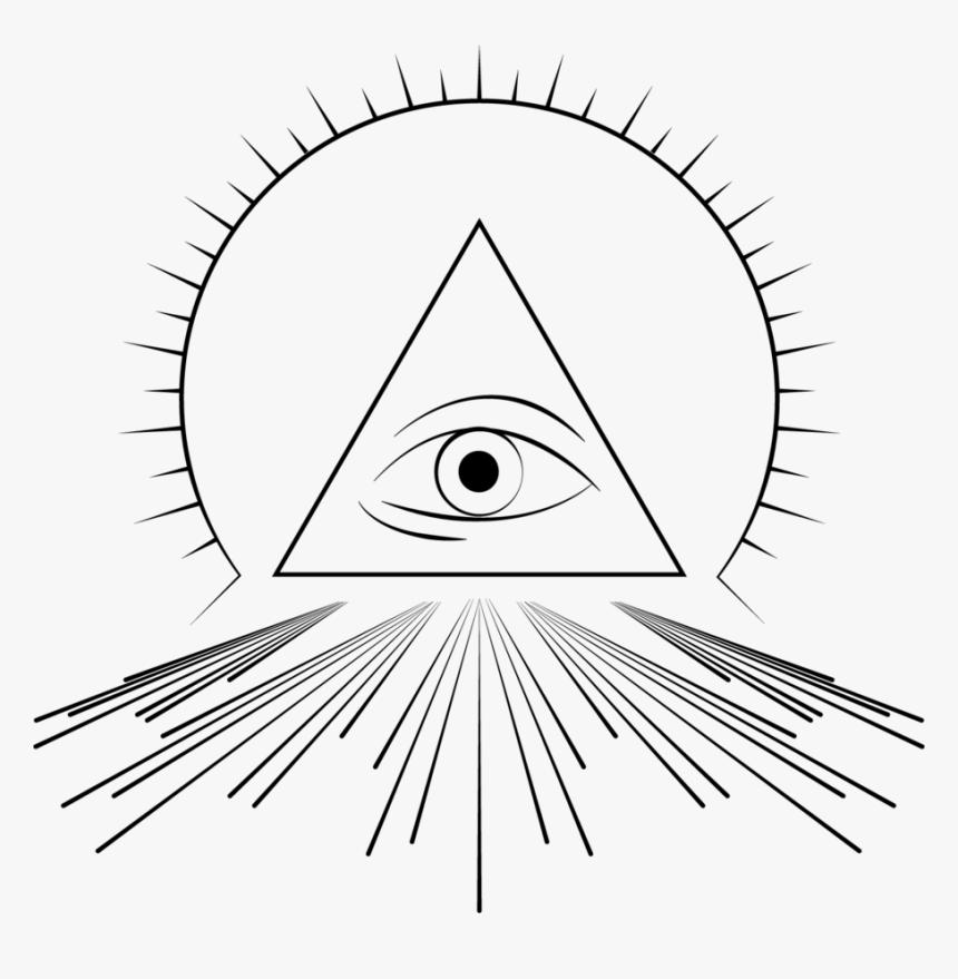 Eye Of Illuminati Png - Png Illuminati Eye, Transparent Png, Free Download