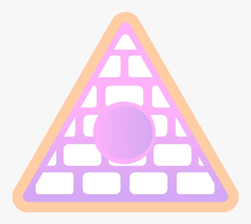 Poppy Thatpoppy Pyramid Illuminati Pink Cute Purple - Poppy Pyramid, HD Png Download, Free Download